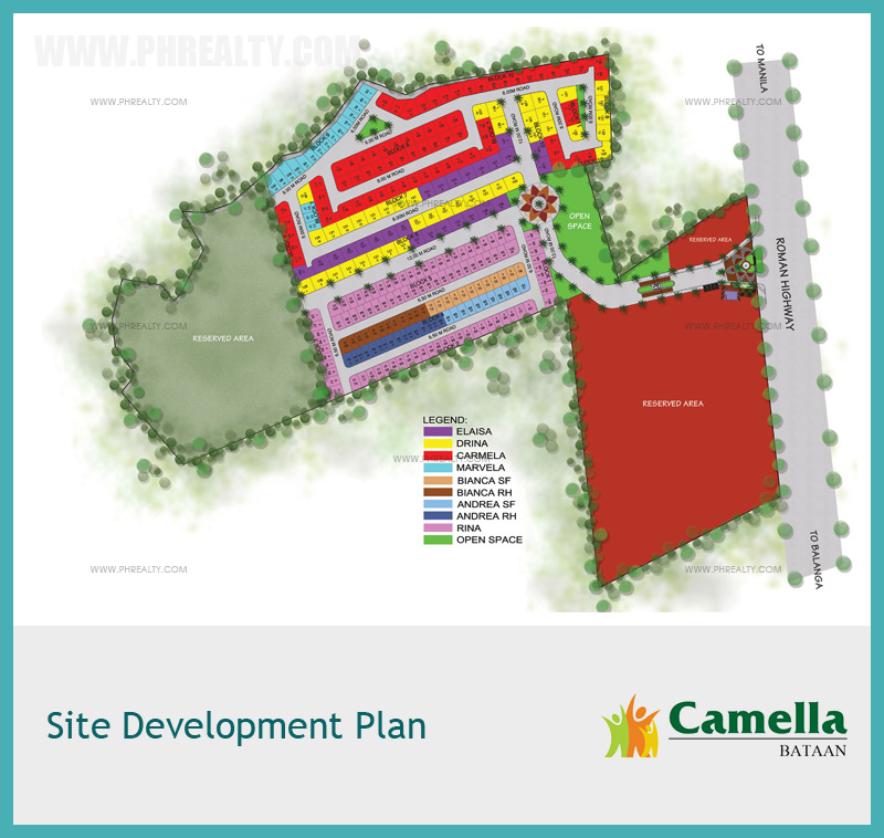 Camella Bataan - Site Development Plan